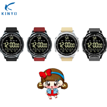 2018 Steel Silicon waterproof watch smart watches pedometer sleep monitoring outdoor activity sport wristwatch wearable devices