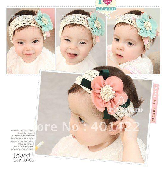 $15 off per $150 order 10pcs  wholesale  baby headband girls lace headband  Girls Head Accessories