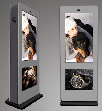 55 Inch Outdoor LCD Advertising Kiosk, Advertising Equipment,outdoor LCD Desktop Pc