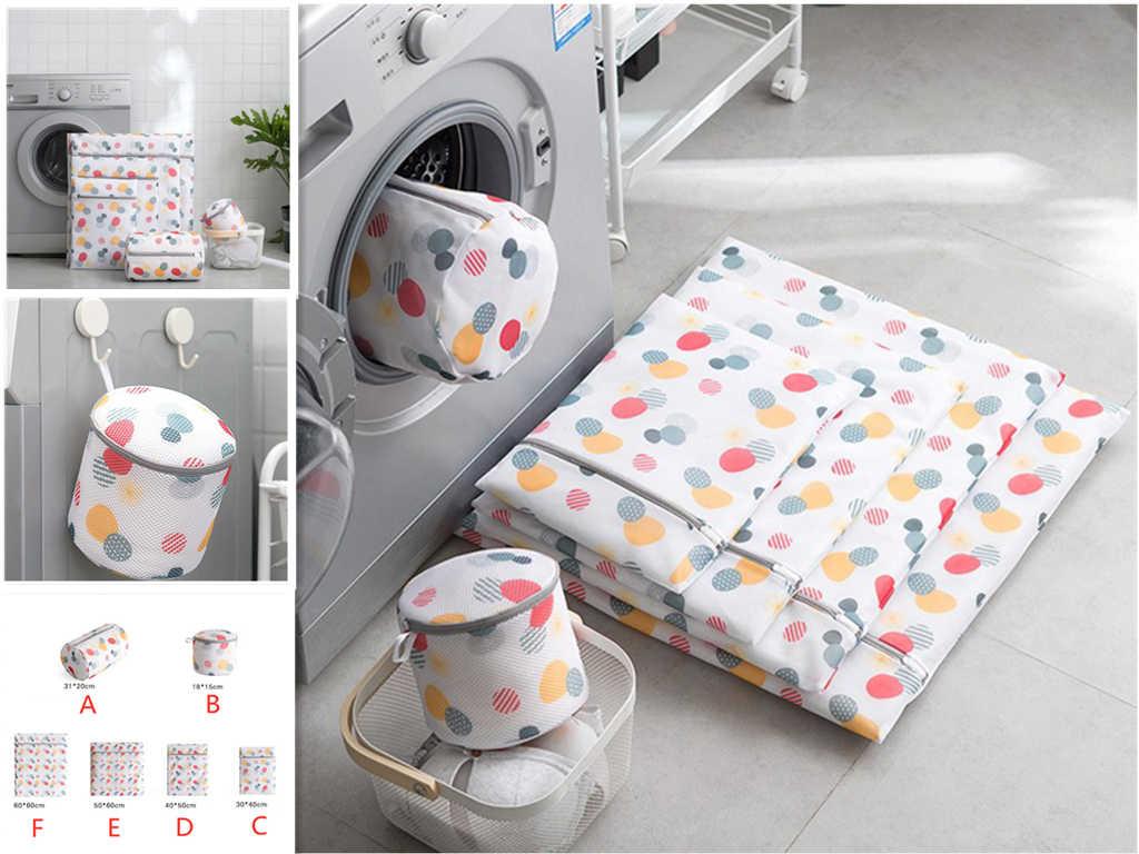 Máquina de Lavar roupas Lavanderia Sacos de Meias Sutiã Roupa Interior Lingerie Malha Net Saco de Lavagem Organizador da Viagem Bolsa Dropshipping