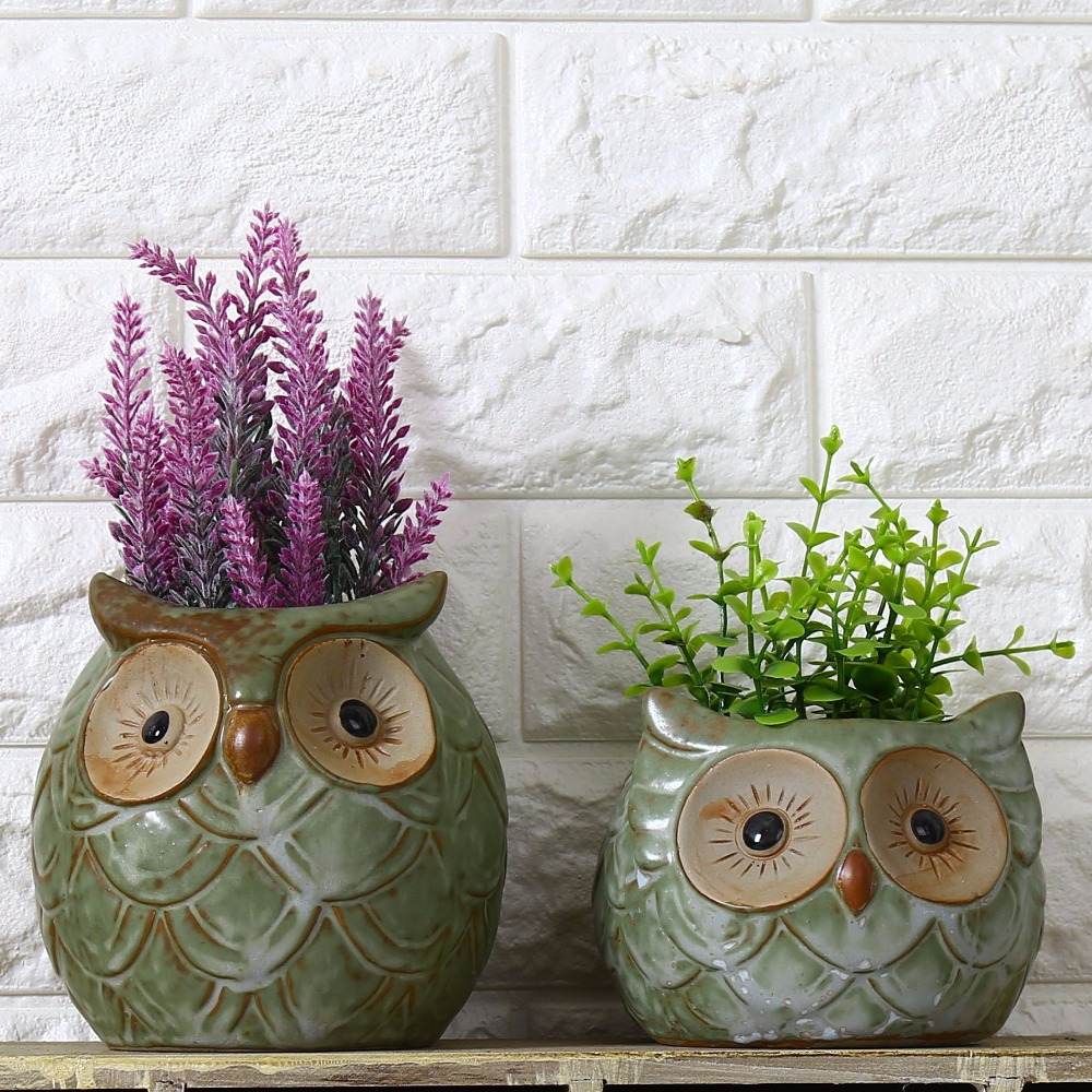 Online buy wholesale porcelain garden pots from china for Garden pot