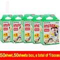 Envío libre fujifilm instax mini 100 instantánea película genuino borde blanco para fuji mini 7 s 8 25 50 s 70 90 300 y compartir sp-1