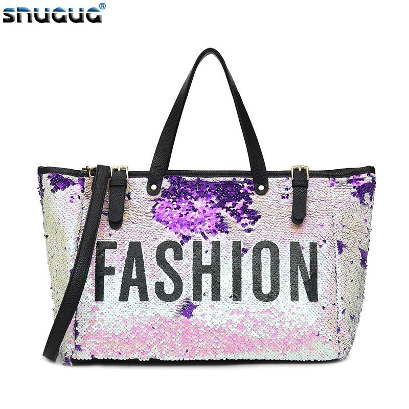 Outdoor Luggage Travel Bag Organizer Sequin Woman Sports Bags For Fitness Training Yoga Duffle Bag Glitter Pink Gym Bags Women