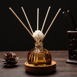 50ml zapach do domu olej Rattan dyfuzor trzcinowy pokój perfumy zapachowy olejek eteryczny dodatek lawenda jaśmin Sakura róża w Trzcinowy dyfuzor olejowy od Dom i ogród na