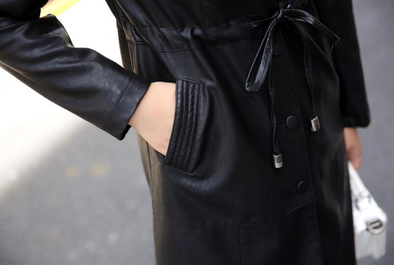 Printemps Femmes Dames Manteaux rouge Et 4xl Survêtement L Veste 2018 Cuir Taille La Noir Xl M Plus lavande Vestes Xxl En Longue S Manteau Xxxl UqOwfnT