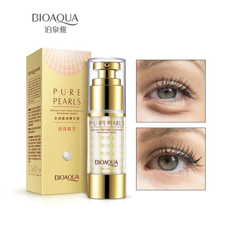 Bioaqua Oční krém Anti-puffiness Kolagen Tmavé kruhy a oční pytlíky Cream Stínové oční vaky Odstranění Dark Circle Remover