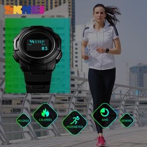 Image 3 - Skmei Digitale Horloge Mannen Multifunctionele Sport Horloges Calorie Berekening Wekker Kompas Heren Horloges Montre Homme 1439