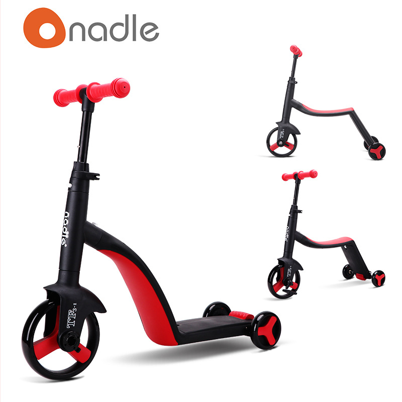 Children  Scooter stroller childrens tricycle three-in-one children scooter bicycle nadle natto childrens carChildren  Scooter stroller childrens tricycle three-in-one children scooter bicycle nadle natto childrens car