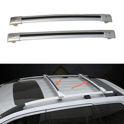 Pary aluminium poprzeczka dachu Cargo bagażnik dla Nissan X-TRAIL 2008-2016