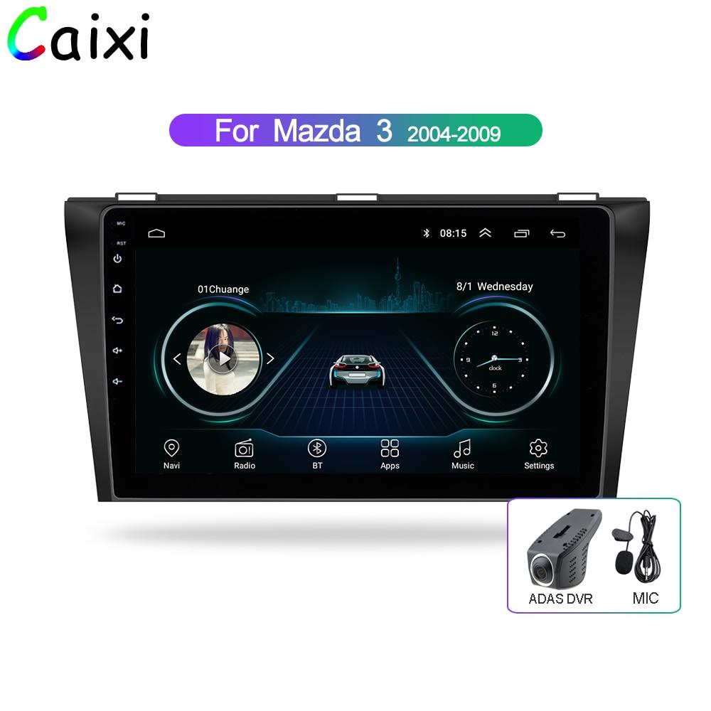 Lecteur de radio dvd multimédia de voiture CaiXi 9 android 8.1 pour Mazda 3 2004-2013 2 din lecteur stéréo de voiture dvd gps Navigation auto radio