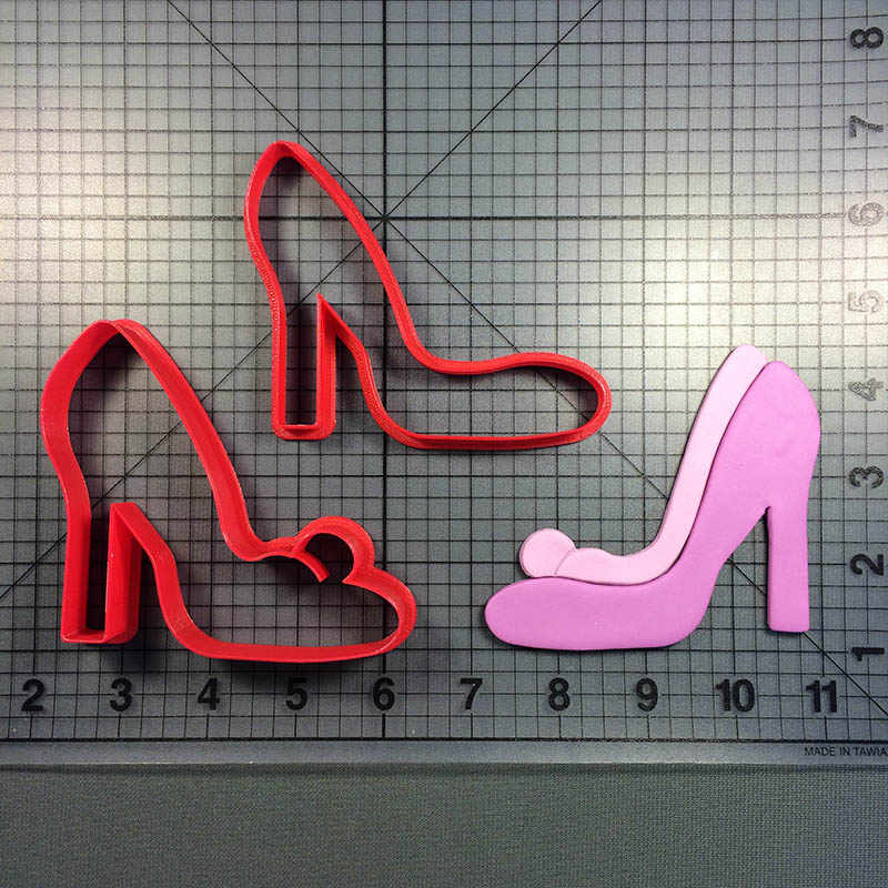 High Heel Cookie Cutter Custom Made 3D Printed Cookie Cutter Set For Baking Tools Cake Decoration Tool cortadores de fondant