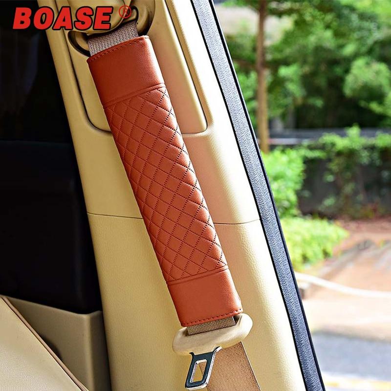 1 Paia Di Sicurezza Auto Cintura Di Sicurezza Spalle Coperture Cuscino Spalla Cintura Di Protezione Accessori Per Interni Auto Styling