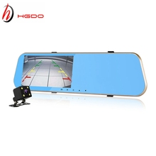 HGDO Car font b DVR b font Full HD rearview mirror font b camera b font