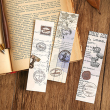 30 Pcs/lot Cute Creative Private letters Paper Bookmark Books Clip  School Supplies Accessories Stationery Bookmarks 1 pcs boxed cute feather glass ball pendant bookmarks colorful books school stationery items office supplies