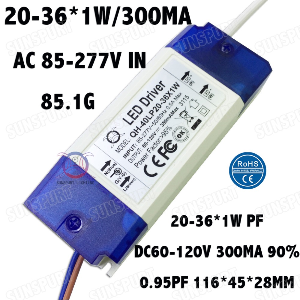 Buy 50pcs Led Driver And Get Free Shipping On Circuit 3w 300ma Triac Dimmable Constant Current
