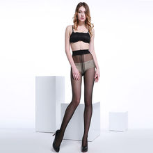 6 Pairs Women's ultra-thin Sexy 40D Core-spun Yarn Tights Pantyhose T Crotch Rompers Stockings