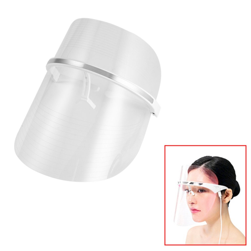 LED Light Therapy Face Mask Therapy Effective Facial Treatment Mask LED Beauty Device Anti Acne Wrinkle Removal New Sale 2016 hot sale blue lighttherapy acne laser pen soft scar wrinkle removal treatment device