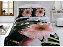 Комплект постельного белья двуспальный-евро VIRGINIA SECRET, Bamboo, цветы, 3D