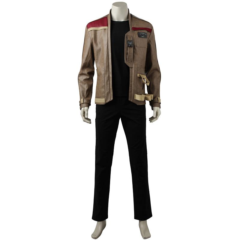 2018 New Arrival Star Wars The Last Jedi Finn Cosplay Costumes Jackets Trousers New Year Clothing Outfit Halloween Party For Men