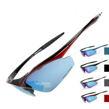 2017 Refined Cycling Eyewear Outdoor Sports Glasses Polarized Goggles Sunglasse Men/Women MTB Bicycle Riding Bike Glasses TS001
