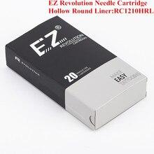 цена на RC1210HRL EZ Revolution Cartridge Needles Hollow Round Liner Tattoo Needles for Cartridge System Tattoo Grips & Machine 20 pcs