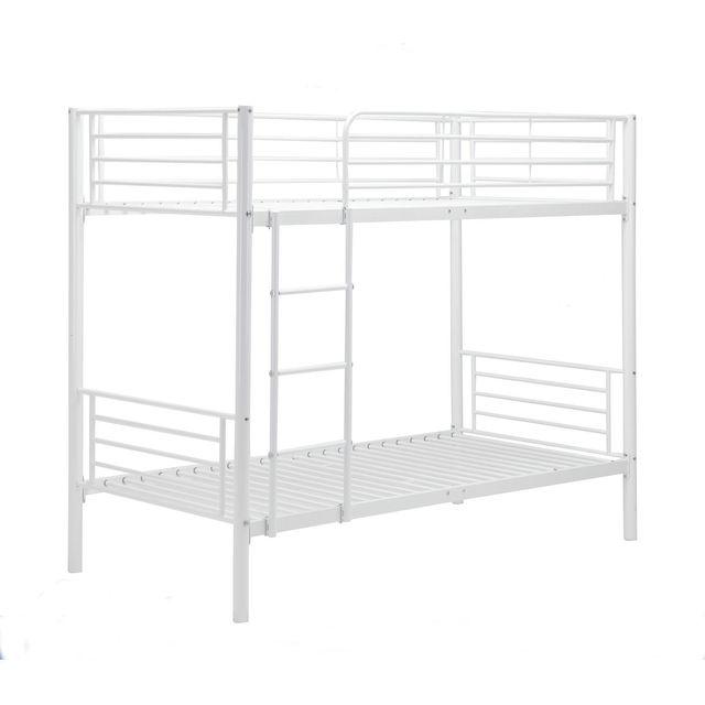 Twin Bunkbed  Frame w/ Ladder  2