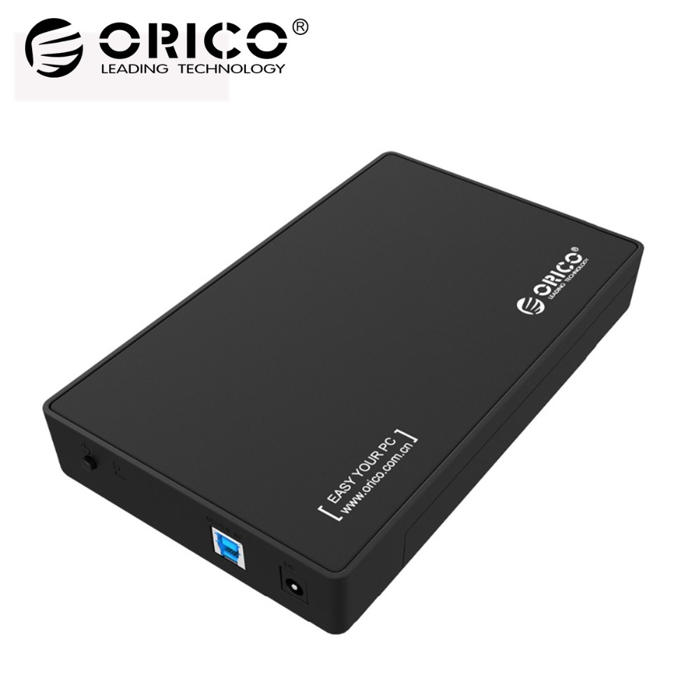 ORICO 3.5 Inch HDD Enclosure USB3.0 to SATA Hard Disk Drive External HDD Case Box Tool Free 8TB for 3.5 SATA HDD and SSD dapter ugreen hdd enclosure sata to usb 3 0 hdd case tool free for 7 9 5mm 2 5 inch sata ssd up to 6tb hard disk box external hdd case