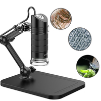 Portable USB2 0 Digital Microscope 500X 1000X Electronic Endoscope 8 LED 2 Million Pixels Practic Magnifier