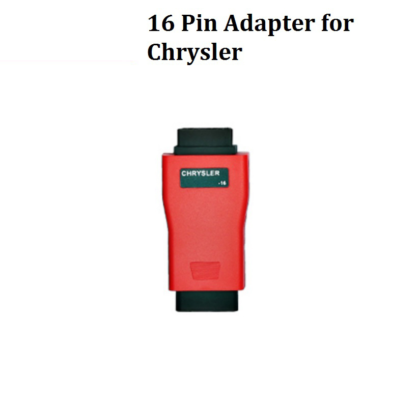 Autel 16pin adapter for Chrysler for AUTEL Maxisys pro ms908p & Autel Maxisys Elite,ds808,mk808 ,ms906 autel maxisys elite car diagnosis j2534 ecu programing tool faster than ms908p 908 pro free update 2 years on autel website