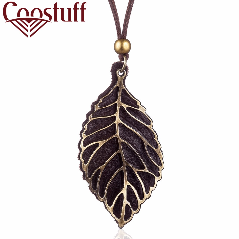 vintage collares necklaces & pendants for women,2017 new men jewelry love leaf pendant statement necklace collares mujer bijoux