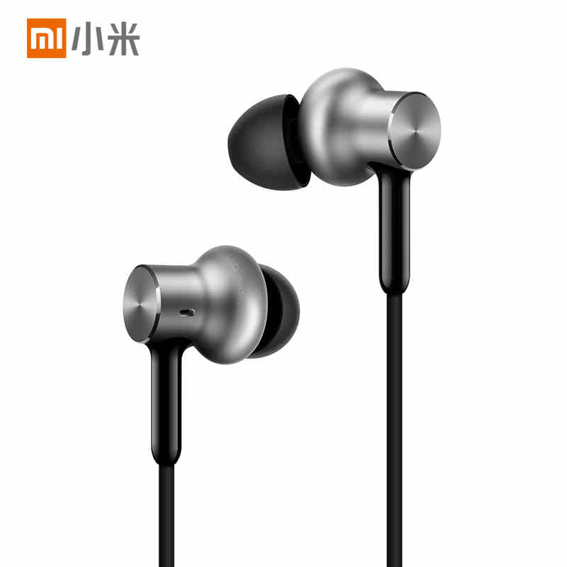 100% Original Xiaomi Mi In-Ear Earphone Pro HD,17g Light Weight,3.5mm Gold-Plated Jack,1.25M,Built-in Microphone,Wire Control original xiaomi mi hybrid earphone in ear 3 5mm earbuds piston pro with microphone wired control for samsung huawei p10 s8