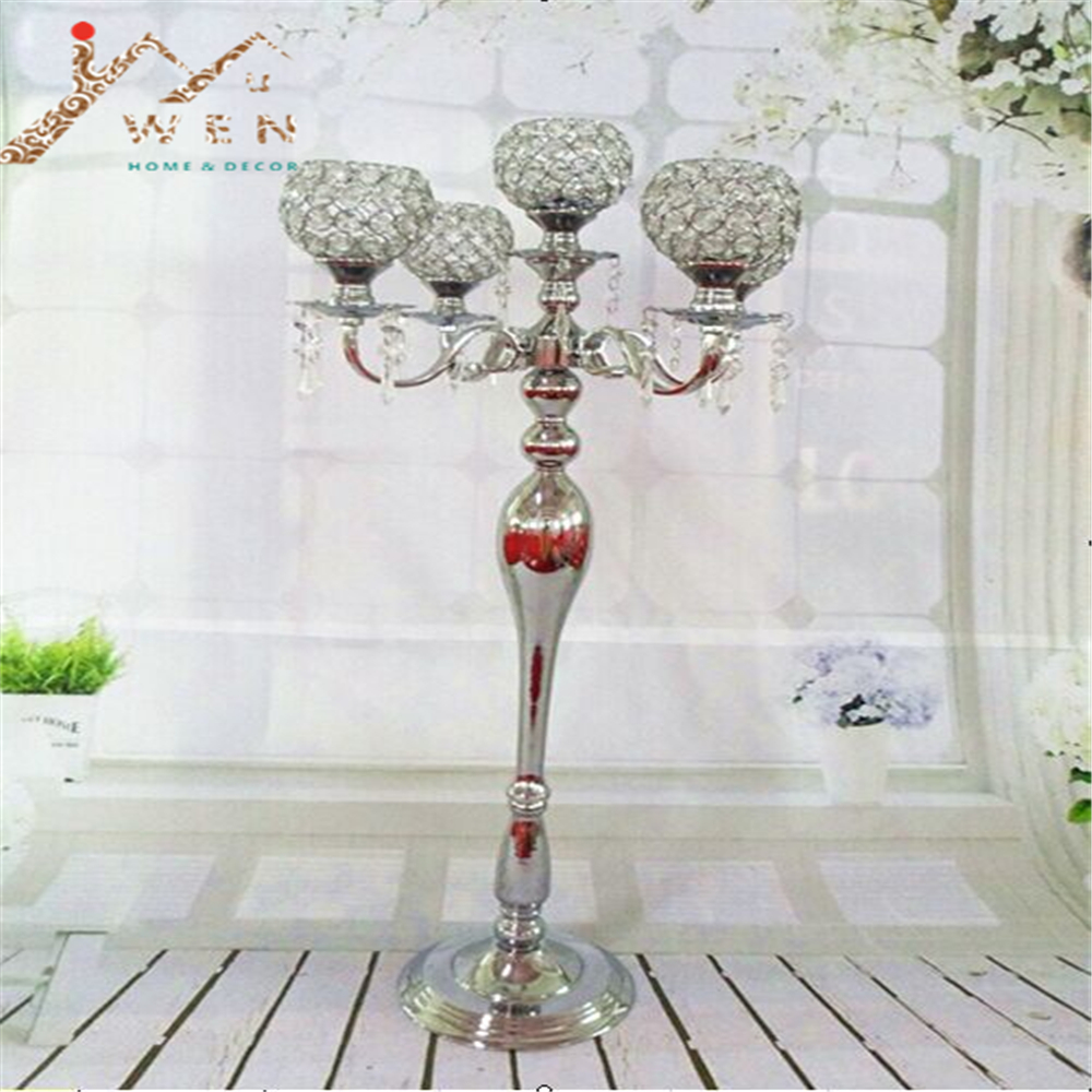 2015 new arrival 93cm height 5-arms metal candelabras shiny silver plated wedding centerpiece candle holder event candelabrum2015 new arrival 93cm height 5-arms metal candelabras shiny silver plated wedding centerpiece candle holder event candelabrum