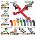 Для Honda CR 80R 85R CR80R CR85R 1998-2007 2006 2005 2004 2003  для мотокросса  CNC Pivot  для гоночного велосипеда  сцепления  тормоза  ручки  Лидер продаж