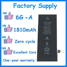DaDaxiong 10pcs/lot Factory Supply 1810mAh Battery for iPhone 6 6G Genuine zero cycle replacement repair parts 6G-A