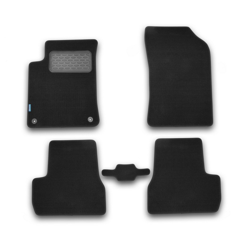 цена на Mats in the salon For CITROEN DS3 AUTOMATIC TRANSMISSION 2010->, хб... 5 PCs (textile)
