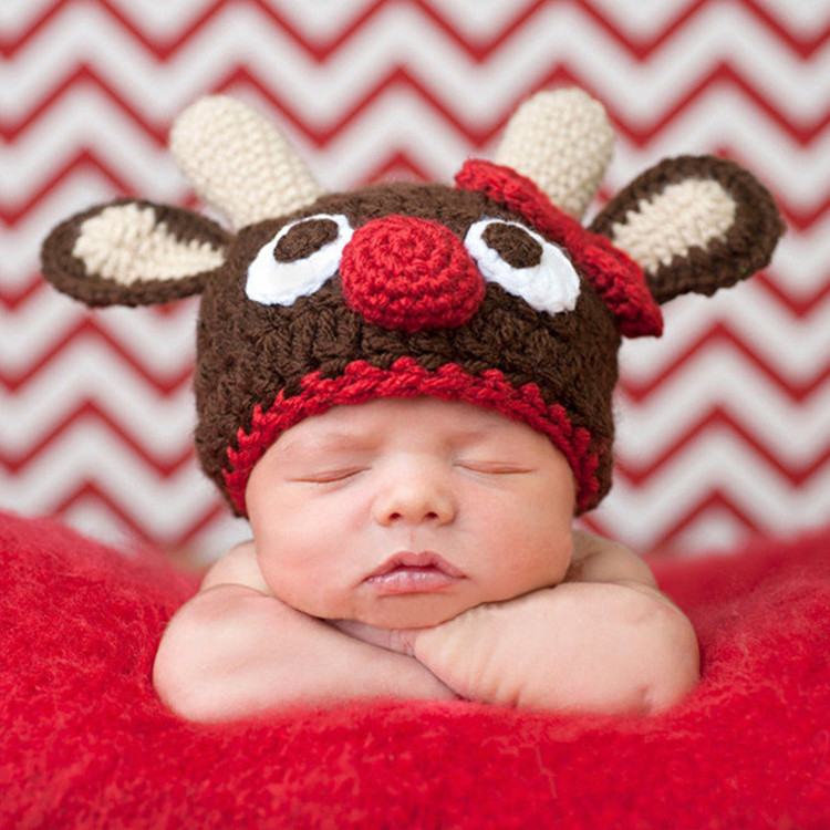 4e6598064daa Hand Knitting Wool Cap Baby Baby Child Photography Clothing Clothing ...