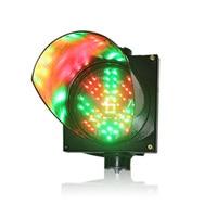 DC24V 200mm red cross green arrow parking lots traffic guidance light waterproof traffic signal