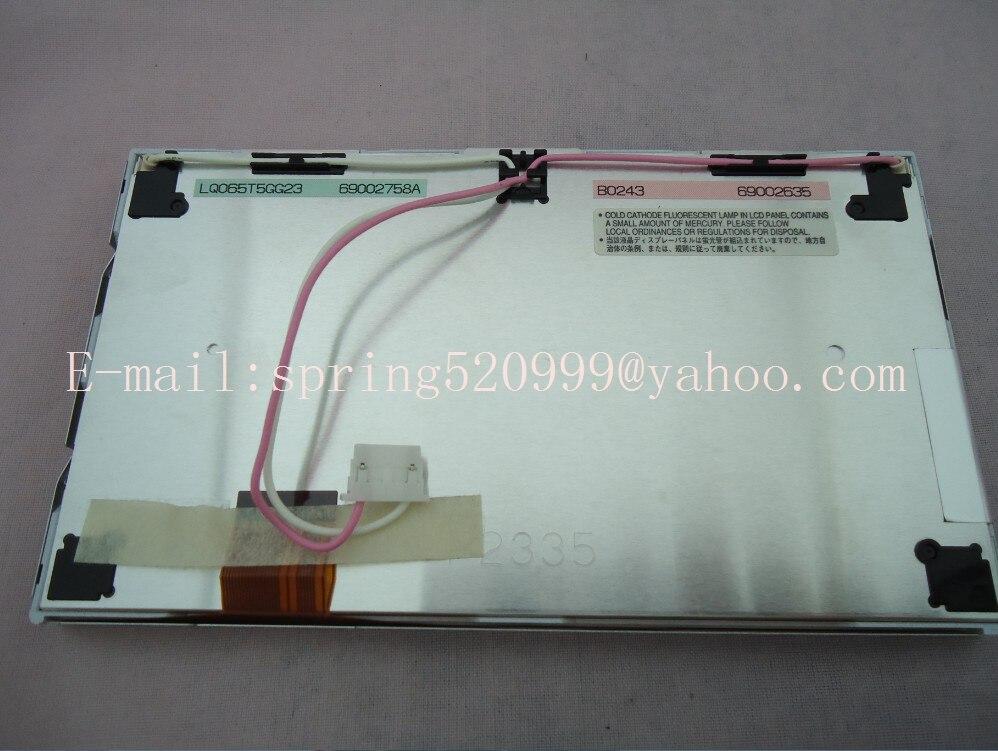 Brand new Matsushita LQ065T5GG23 LQ065T5GG22 LCD DISPLAY modules 6 5 inch screen for mercedes ML320 ML350