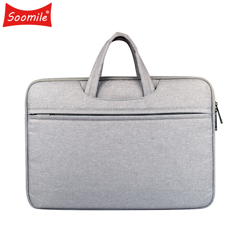 2018 New Brand Men Briefcase 12-15.6 Inch Laptop Bags Male Simple Office Business Handbag Multi-function Notebook Computer Bag new men 14 inch laptop briefcase bag waterproof handbag mens nylon briefcase men s office bags business computer bags