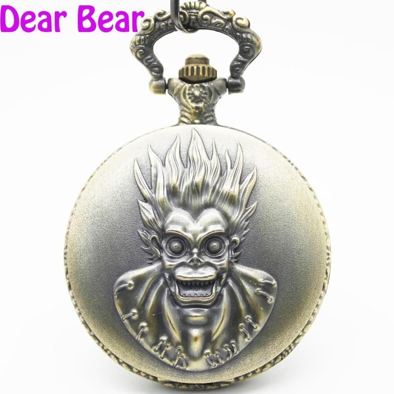 1060) винтажное бронзовое ожерелье для карманных часов, диаметр 4,7 см