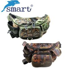 Multi-function Waist Fishing Bag 30x9x14cm Outdoor Lure Cover Fishing Tackle Case Bolsa Para Pesca Grande Backpack Fish Bag(China)
