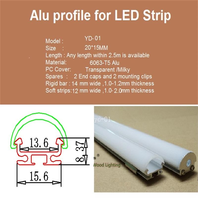 liga de aluminio pc longo diodo material pf 09 04