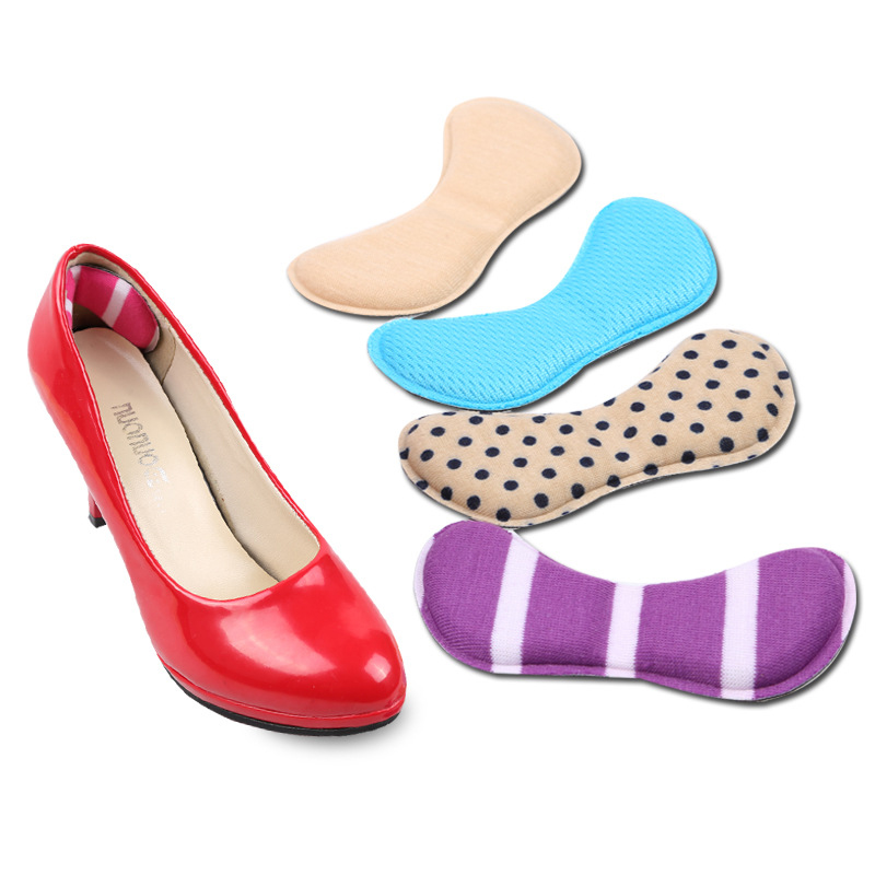 7Pair 3D Sponge Soft Insole Comfort High Heel Shoe Pad Pain Relief Insert Cushion Pad Arch Support Heel Cushions Foot Care