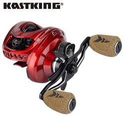 KastKing MegaJaws Baitcasting Fishing Reel Gear Ratios from 5.4:1 to 9.1:1 11+1BBs with Magnetic Braking System 8KG Max Drag