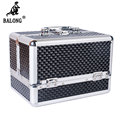 Fish Scales Pattern Jewelry Display Box Necklace Rings Bracelet Storage Box Makeup Case Organizer Box Jewellery Carrying Case