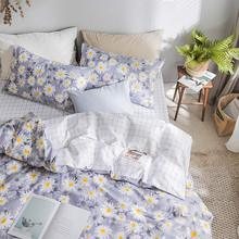Cute flower bedding set teen kid girl,twin full queen floral cotton single double bedclothes bed sheet pillow case duvet cover