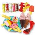 Niños helado de arcilla de Color inteligente plastilina 3D juegos de Play Doh con Playdough moldes de plastilina juguetes educativos para niños