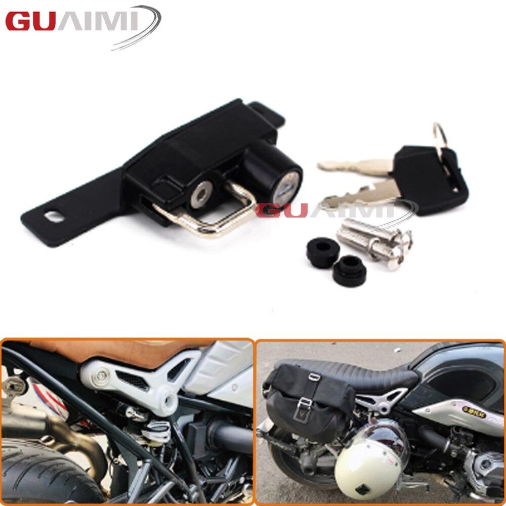 Right Side Motorcycle Helmet Lock For BMW Rnine T 2017 R Nine T Scrambler 2017