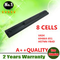 8 células bateria do portátil 695192 - 001 VK04 694864 - 851 para Hp Pavilion TouchSmart 14 15 Ultrabook 14 15 Sleekbook 14 15 séries