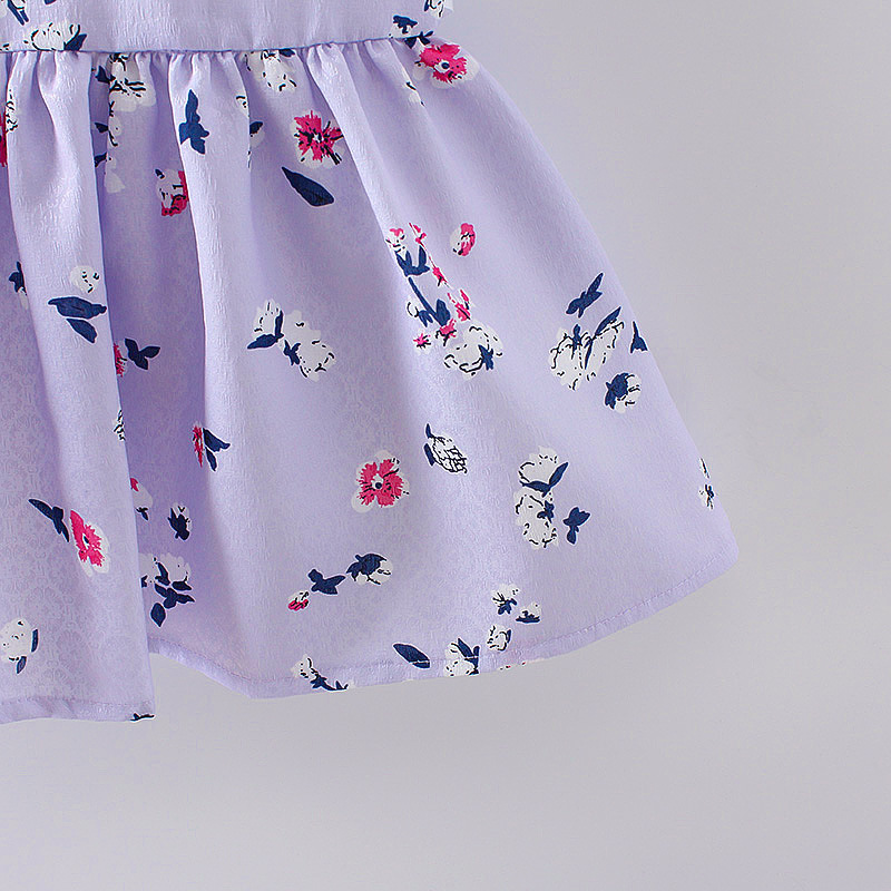 HTB1FNw6QFXXXXc1XXXXq6xXFXXX3 - LCJMMO 2017 Baby Girl Dress Summer Floral Princess Party Cute Cotton Baby Girls Clothing Kids Lolita bow-knot Dresses For 6-24M